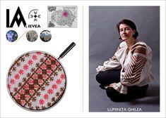 Romanian shirt hand-made by Luminita Ghilea for the Ia Aievea project. *** Camasa cusuta de Luminita Ghilea pentru proiectul Ia Aievea dupa un izvod de la Muzeul Astra.