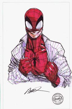 #Hulk #Fan #Art. (Spider-Man) By: Humberto Ramos. (THE * 5 * STÅR * ÅWARD * OF: * AW YEAH, IT'S MAJOR ÅWESOMENESS!!!™)[THANK U 4 PINNING!!!<·><]<©>ÅÅÅ+(OB4E)
