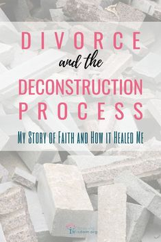 My Divorce was a deconstruction process, but my faith is what helped me heal. Save My Marriage, Happy Marriage, Marriage Advice, Understanding Emotions, Change Is Hard, Self Development, Leadership Development, Personal Development, Letting Go Of Him