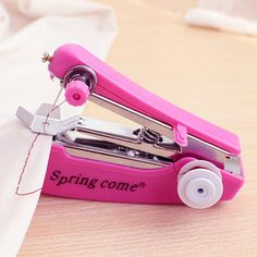 Portable Mini Manual Clothes Sewing Machine Handcraft DIY - Newchic Mobile.