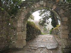 arch way | Castle Archway in Ireland