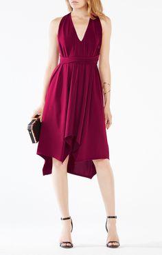 Dara Belted Jersey Dress - BCBG