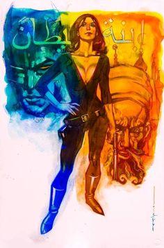 Talia Al Ghul by Brian Stelfreeze