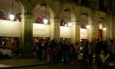 been here, but would love to eat here again....Les Quinze Nits, Barcelona...crazy lines just to eat...but worth it...