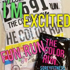 2nd Time to do the HAPPIEST 5k in the world -- The Color Run!! Here are some awesome tips for first time walkers and runners doing a fun run!