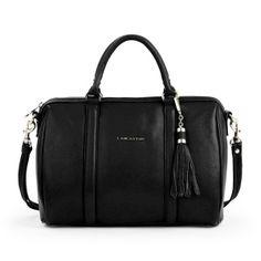 Grand sac polochon A4 Mademoiselle Ana noir