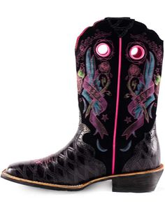 Ariat Women&39s Rodeobaby Rocker Cowboy Western Boots Distressed