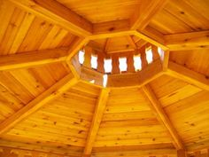 gazebo roof structure pictures | Octagon Gazebo • Montana Structures