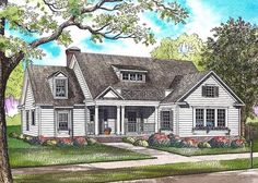 3 Bed Country Home Plan with an Option for a 4th Bed - 70542MK | Architectural Designs - House Plans