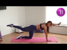 5 min Lower Back Workout Lower Back Exercises, Slim Waist, Easy Workouts, Burns, Fat, Fitness, Youtube, Simple, Tiny Waist