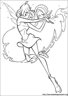 All Winx Club Coloring Games