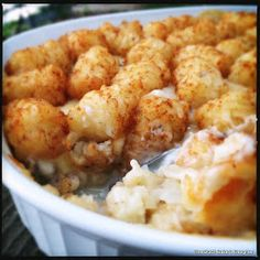 Tater Tot Hotdish on Pinterest | Vegan Stoner, Paleo Eggplant Recipes ...