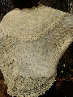 Knitting - Circle of Leaves - #REK0458