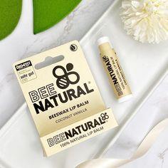 REVIEW | Bee Natural – Lip Balm Coconut Vanilla Vitamin E, Beeswax Lip Balm, Natural Lip Balm, The Balm, Vanilla, Coconut, Nature, Natural Lips, Chapped Lips