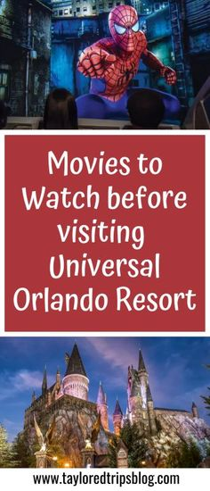 Sep 25, 2020 - If you want to familiarize yourself with the stories around the parks and get even more excited for your trip, here is a list of movies to watch before visiting Universal Orlando Resort.