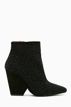Jeffrey Campbell Tish Beaded Booties #Refinery29