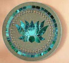 Mosaic lotus
