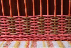 Поделка изделие Плетение Подносики-разносики и др   Трубочки бумажные фото 11