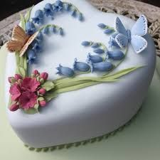 Image result for bluebell cupcakes