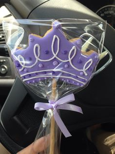 Crown cookie candy bar princess sofia theme cumpleaños