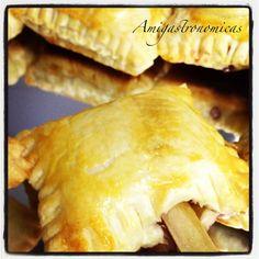 Aperitivos: Piruletas de queso con fresones
