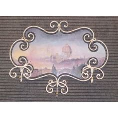 COAT wrought iron. city Florence. cm 75 x 60. 732