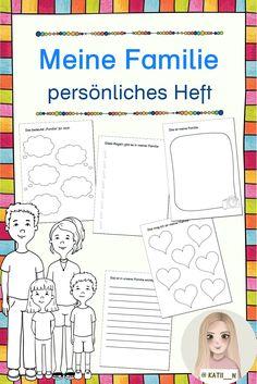Dieses Heft ist ein persönliches Heft für die Schülerinnen und Schüler zu ihrer Familie.  Sie können eintragen, was Familie für sie bedeutet, wer zu ihrer Familie ghört, welche Gefühle und Regeln es gibt, usw.  Es gibt verschiedene Formate, etwas zum Schreiben, zum Zeichnen, ... Bullet Journal, Pictorial Maps, Book Recommendations