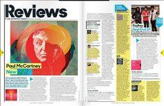 Iconic music magazine gets a makeover | Print design | Creative Bloq
