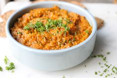 Roasted carrot dip