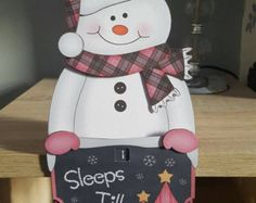 Hayleys Creative Cards by HayleysCreativeCards Creative Cards, Tartan, Snowman, Envelope, Hello Kitty, Christmas Cards, Shelf, Etsy Seller, Decoration