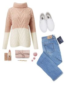 """""""sugar and cotton candy"""" by shizandgiggles ❤ liked on Polyvore featuring Miss Selfridge, Vans, tarte and LULUS"""