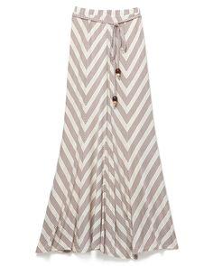 Ella Moss Chevron Maxi Skirt