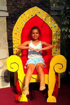 trono del rey