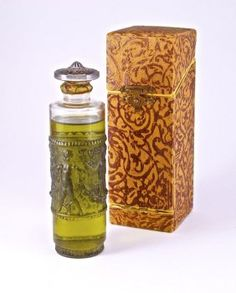1924 J.Viard, Isabey La Route D'Emeraude Perfume Bottle