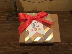 Last month we all got together and made the Lovely Little Wreath kit from Paper Pumpkin. Every month Stampin' Up sends out a crafty kit to y. Paper Pumpkin, I Card, Stampin Up, Card Making, Gift Wrapping, Wreaths, Kit, Crafty, Creative