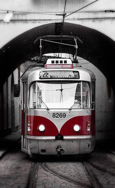 Tram prague CZ