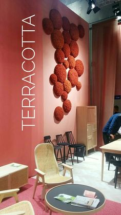 Color of the Week: Terracotta by @detaljee #milano #salonedelmobile