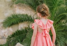 Plumeti Rain - Claire Dress   #summer #girlsdresses #madeinspain #dress #coral #children