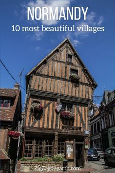 10 best villages in Normandy -- | Normandy Travel Tips | Normandy things to do | Normandy Itinerary | Normandy Trip | Normandy Photography | Normandy, France | #Normandy #France