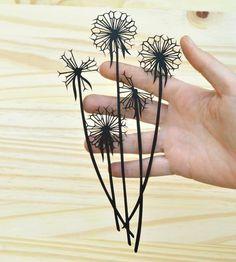 Dandelion Seedheads Paper Cut Art | Art Pieces | Bird Mafia | Scoutmob Shoppe | Product Detail