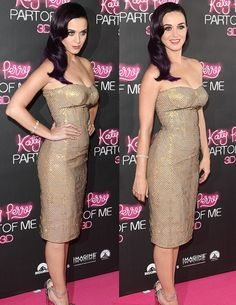 Katy Perry looks fabulous :) Love the vintage inspired hairstyle ♥