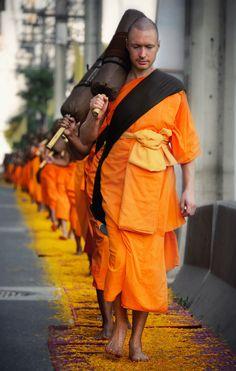 Tudong...Buddhist Pilgrimage. by Vichaya Pop on 500px,Thailand