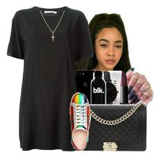 """""""Ur[Sza]"""" by maiyaxbabyyy ❤ liked on Polyvore featuring NARS Cosmetics, Bobbi Brown Cosmetics, CLUSE, Chanel, T By Alexander Wang, Gucci and Sydney Evan"""