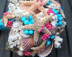Amazing Beach Wedding Bouquet