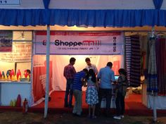 Visitors seeking information about shoppemall.com from our display store at Rongali fest. #DeliveringTrust #OnlineShoppingMall #OnlineMarketplace