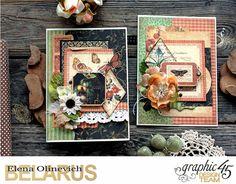Elena Olinevich: Fall Cards - Graphic45 - выступление на конференци...