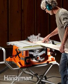 Portable Table Saw Reviews: http://www.familyhandyman.com/tools/table-saws/portable-table-saw-reviews/view-all