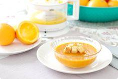 Crema de calabaza asada con naranja - Velocidad cuchara