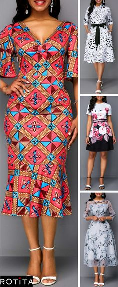 The Perfect Dresses. Fashionable Dresses, Spring Fashion Trends, Fashion Trends for Women, Dresses for Women, Cute Spring Dresses Latest African Fashion Dresses, African Dresses For Women, African Print Dresses, African Print Fashion, Africa Fashion, Women's Fashion Dresses, African Wedding Attire, African Attire, Ankara Dress Styles