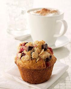 cranberry chOcOlate chunk muffins